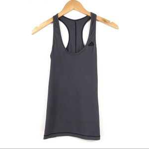 Adidas | Ribbed Racerback Tank Top